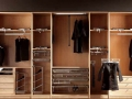 Beautiful Home Interiors Wardrobe Designs Made from Wooden Material Modern Bedroom with Built in Wardrobe Stylish Design Ideas
